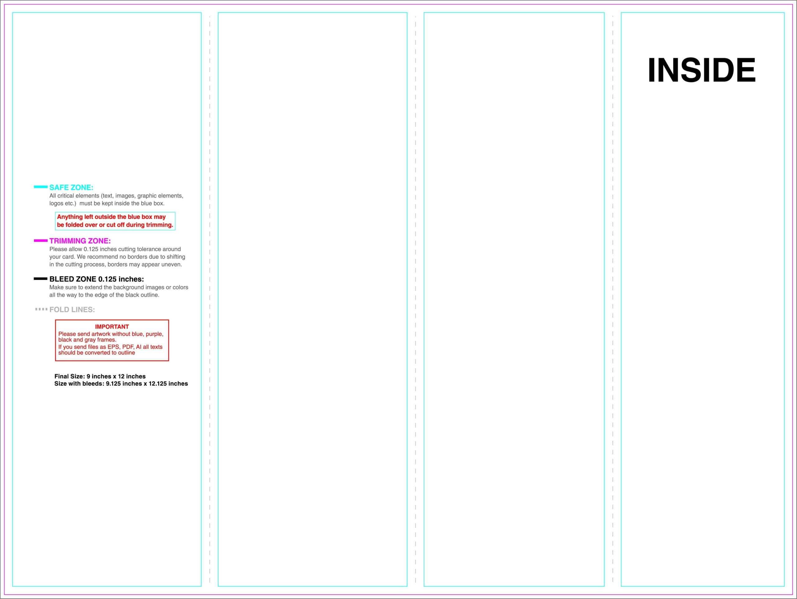 Copy Of Science Brochure Template Google Docs Outline For Science Brochure Template Google Docs