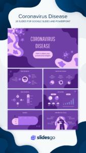 Coronavirus Disease Google Slides Theme And Powerpoint Template with Virus Powerpoint Template Free Download