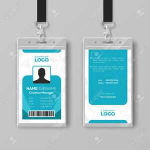 Corporate Id Card Design Template pertaining to Company Id Card Design Template
