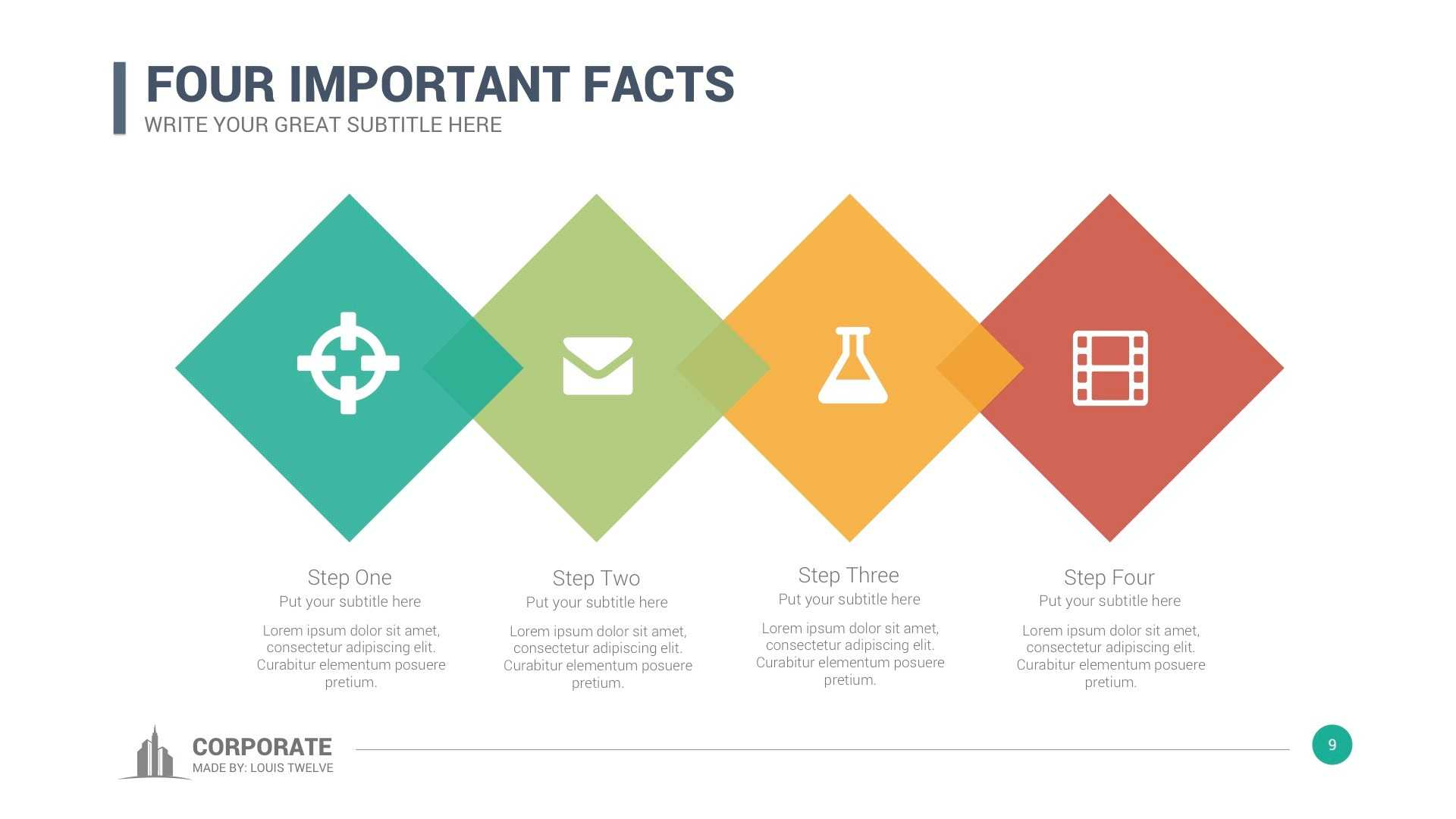 Corporate Overview Powerpoint Template Regarding Fancy Powerpoint Templates