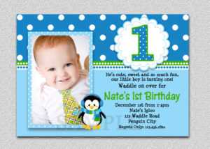 Create 1St Birthday Invitation Card For Free – Tomope inside First Birthday Invitation Card Template