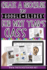 Create A Brochure In Google Slides™ For Next Year's Class pertaining to Science Brochure Template Google Docs