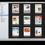 Create A Holiday Newsletter With Pages Or Iphoto   Macworld Throughout Mac Brochure Templates