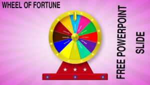 Create A Wheel Of Fortune Slide In Powerpoint in Wheel Of Fortune Powerpoint Template