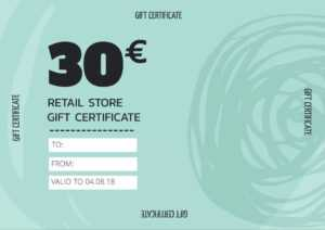 Create Personalized Gift Certificate Templates & Vouchers pertaining to Custom Gift Certificate Template