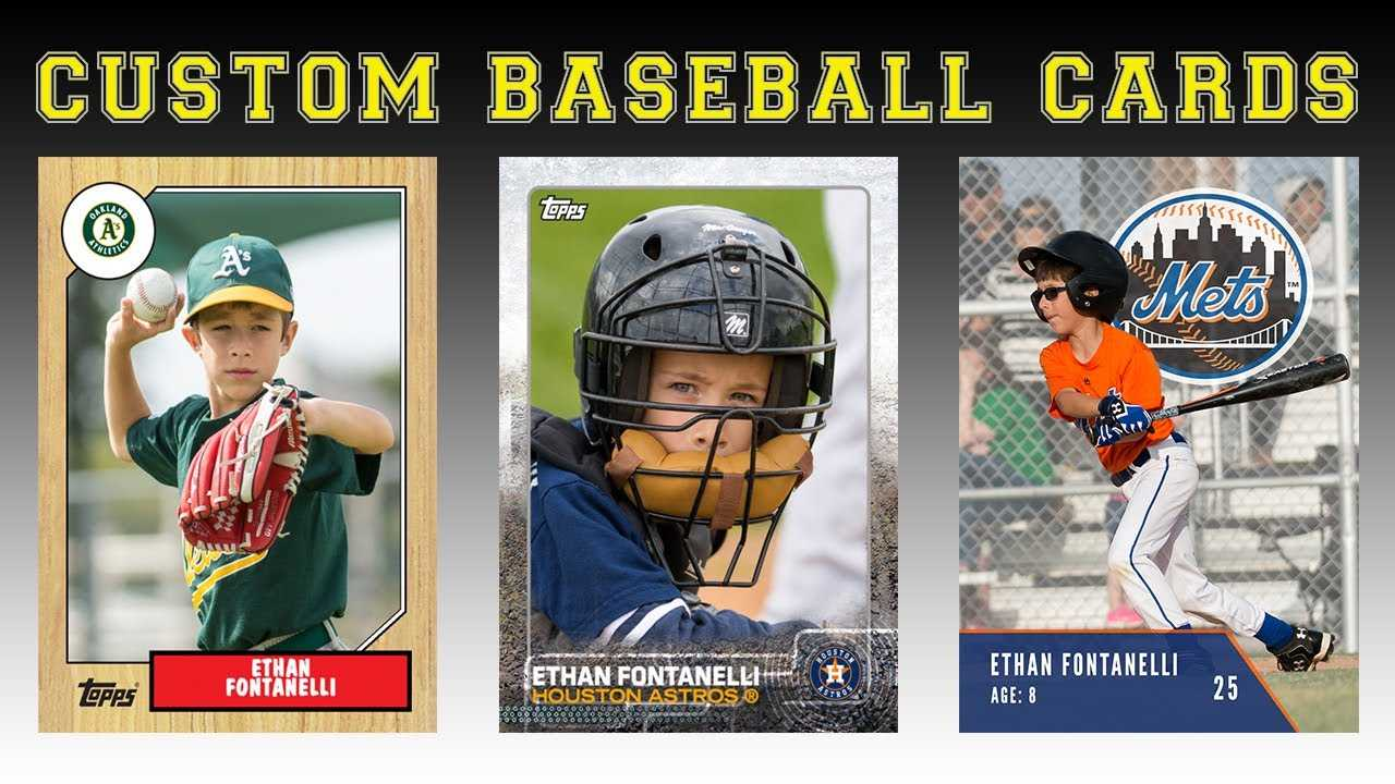 Create Your Own Baseball Cards Intended For Custom Baseball Cards Template