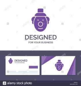 Creative Business Card And Logo Template Joker, Clown for Joker Card Template
