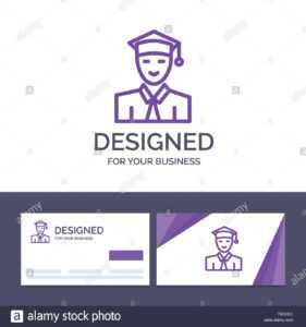 Creative Business Card And Logo Template Student, Education within Graduate Student Business Cards Template