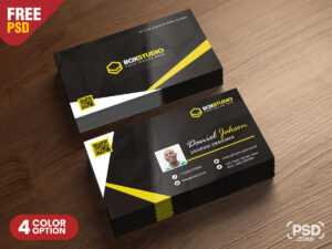 Creative Business Card Template Psd – Psd Zone with regard to Web Design Business Cards Templates