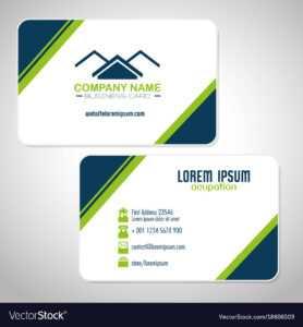 Creative Corporate Business Card Templates with regard to Company Business Cards Templates