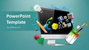 Creative Web Design Powerpoint Template intended for Multimedia Powerpoint Templates