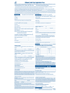 Credit Card Application Form – 6 Free Templates In Pdf, Word with Credit Card Size Template For Word