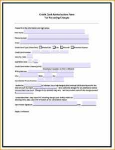 Credit Card Authorization Form – Fotolip pertaining to Credit Card Authorisation Form Template Australia