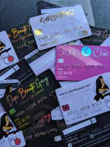 Credit Card Business Cards | 30 Mil Plastic | Same Thickness As A Real  Credit Card within Credit Card Templates For Sale