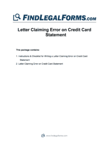 Credit Card Statement Template – Fill Online, Printable intended for Credit Card Statement Template