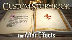 Custom 3D Fairy Tale Storybook (For After Effects) intended for Fairy Tale Powerpoint Template