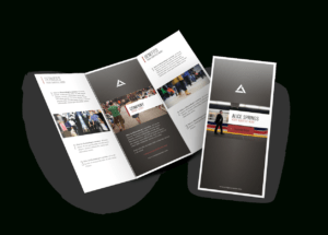 Custom Brochure Printing (A4 & A5 & Dle Size ) throughout Pop Up Brochure Template