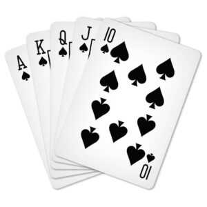 Custom Playing Cards inside Custom Playing Card Template