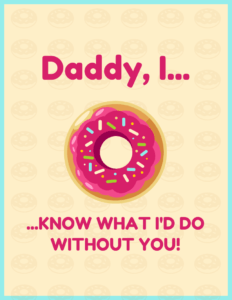 Cute Father's Day Card Template with Fathers Day Card Template