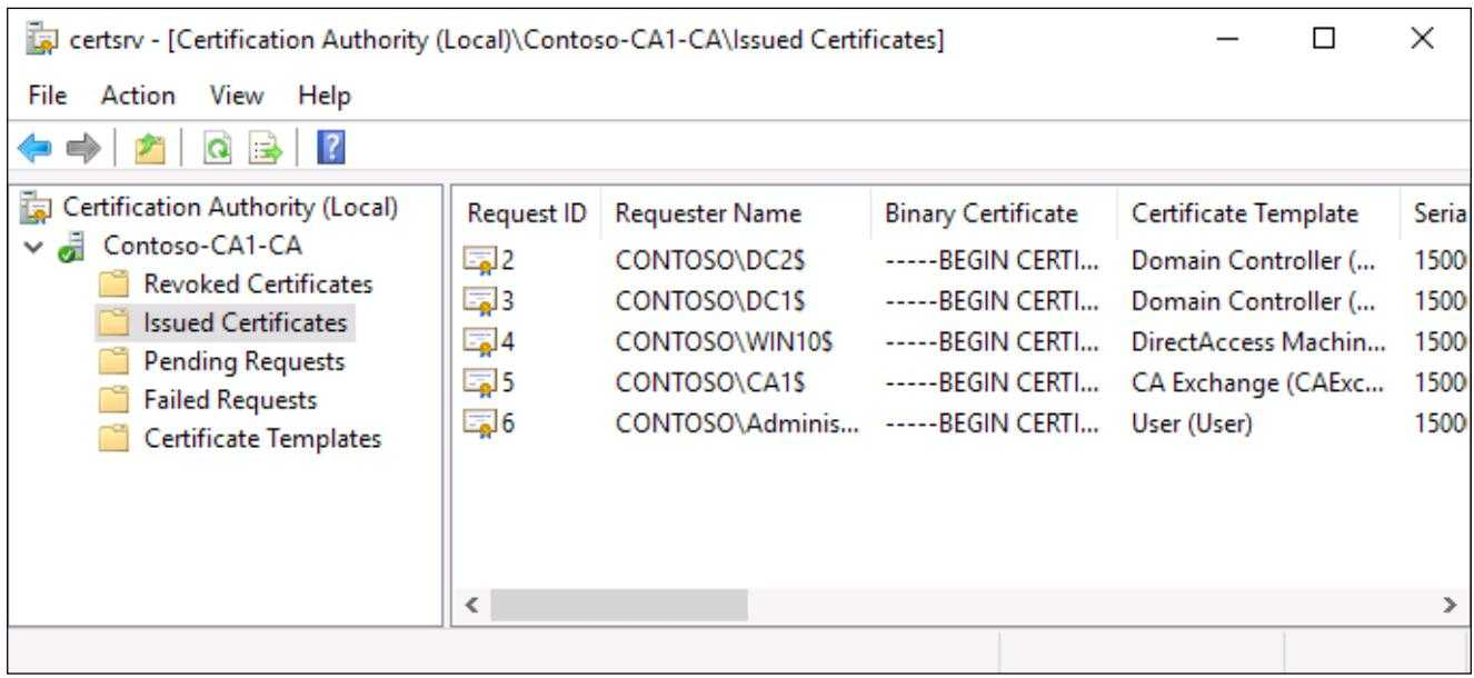 Глава 4. Сертификаты В Windows Server 2016 - Windows Server In Domain Controller Certificate Template