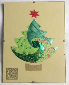 Идейник: Новогодние Открытки. Ч 4. Iris Folding. Обсуждение intended for Iris Folding Christmas Cards Templates