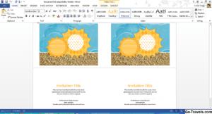 Как: Бесплатные Шаблоны Summer Summer От Microsoft – 2020 with Ms Word Place Card Template