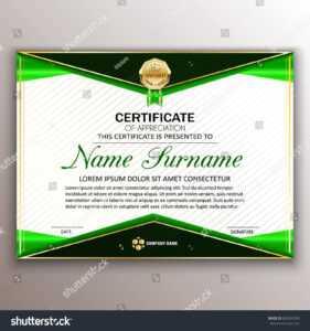 Стоковая Векторная Графика «Beautiful Certificate Template inside Professional Award Certificate Template