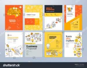 Стоковая Векторная Графика «Брошюра Дизайн Обложки И Флаер regarding Play School Brochure Templates