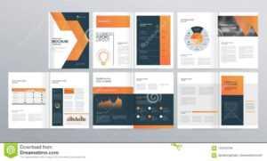 Шаблон Плана Дизайна Для Направления Компании, Годового intended for Welcome Brochure Template
