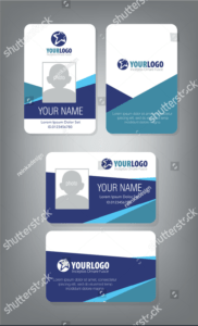 D4Fb03 Sample Employee Id Card Template Employee Template with regard to Sample Of Id Card Template