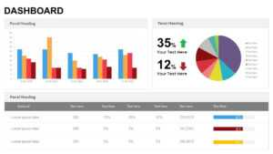 Dashboard Powerpoint Templates And Keynote Template in Project Dashboard Template Powerpoint Free