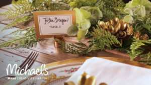 David Tutera™ Gold Place Cards inside Michaels Place Card Template