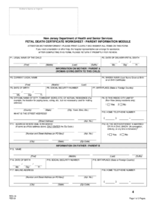Death Certificate Form – Fill Online, Printable, Fillable inside Baby Death Certificate Template