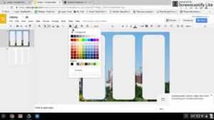 Design 1 Google Slides Brochure throughout Google Drive Templates Brochure