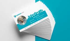 Design Print Ready Business Cards With Gimp | Logosnick inside Gimp Business Card Template