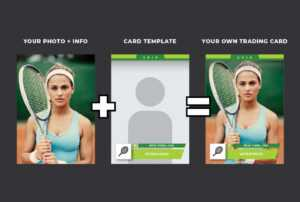 Design Your Sports Trading Card intended for Soccer Trading Card Template