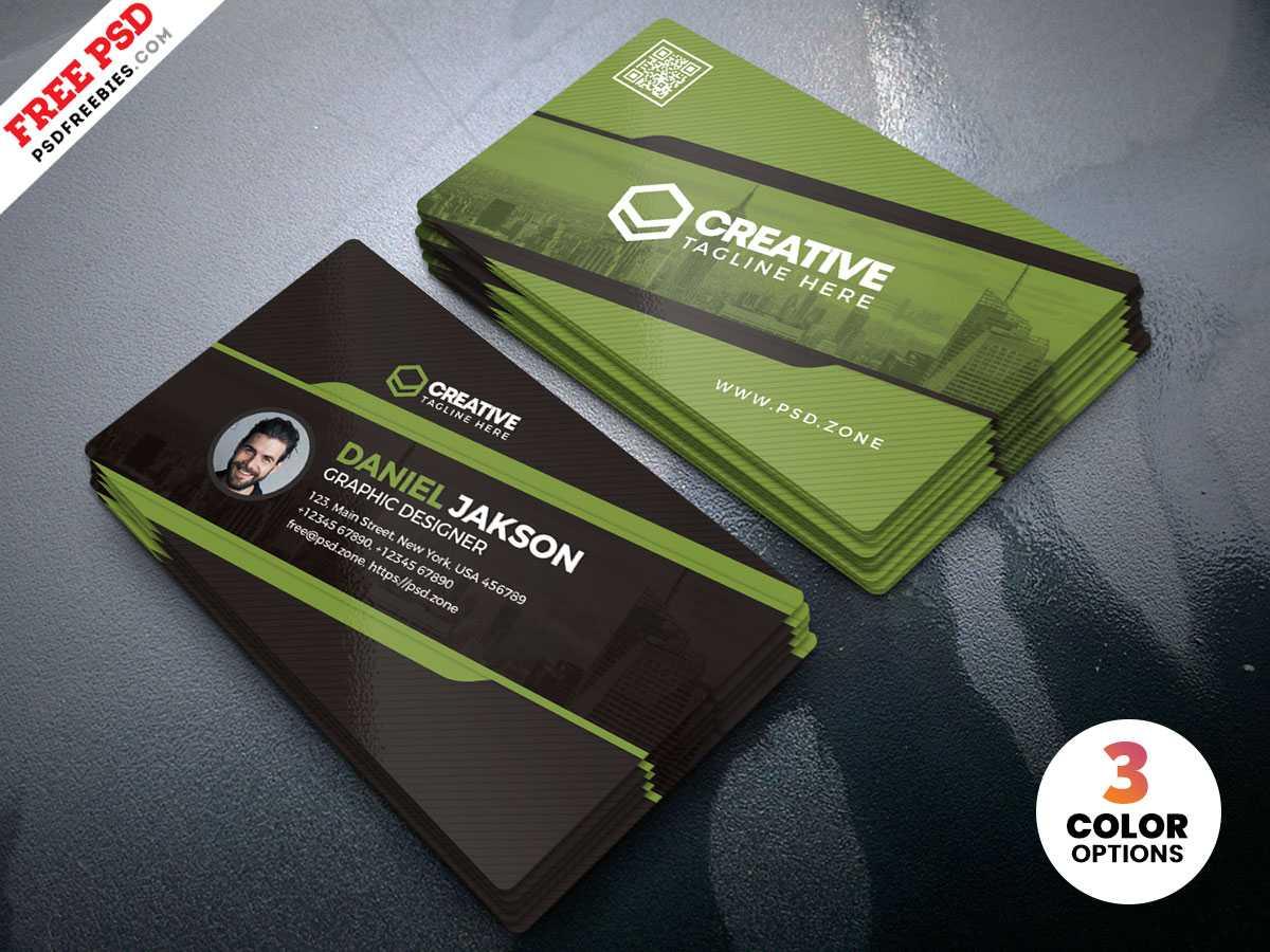 Designer Business Card Design Psd   Psdfreebies Inside Designer Visiting Cards Templates