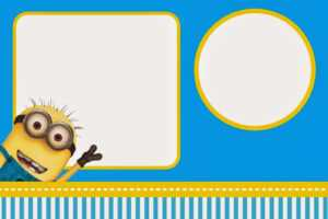 Despicable Me: Invitations And Party Free Printables. – Oh in Minion Card Template