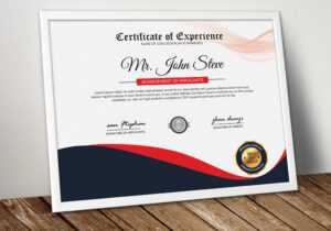 Diploma Certificate Template Word – Vsual within Graduation Certificate Template Word