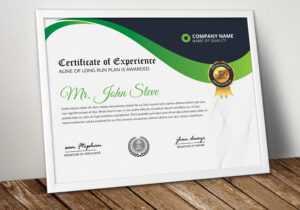 Diploma Certificate Word Template – Vsual in Professional Certificate Templates For Word
