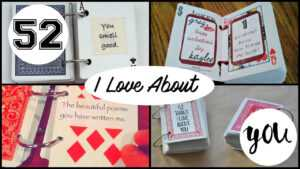 Diy 52 Things I Love About You with regard to 52 Things I Love About You Deck Of Cards Template