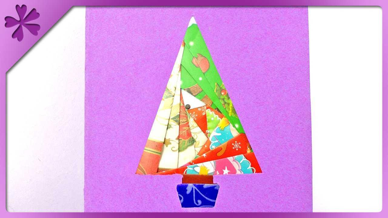 Diy Iris Folding Christmas Card (Eng Subtitles) - Speed Up #152 In Iris Folding Christmas Cards Templates