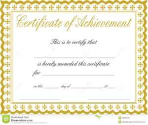 Docx-Achievement-Certificates-Templates-Free-Certificate-Of in Certificate Of Achievement Template Word