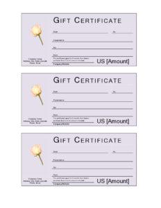 Donation Gift Certificate | Templates At Allbusinesstemplates pertaining to Golf Gift Certificate Template