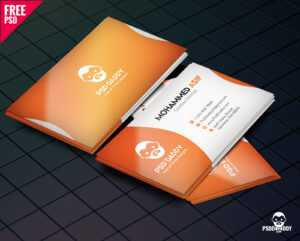 Download] Business Card Design Psd Free | Psddaddy with regard to Download Visiting Card Templates