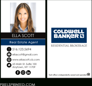 Download Coldwell Banker Business Cards, Coldwell Banker within Coldwell Banker Business Card Template