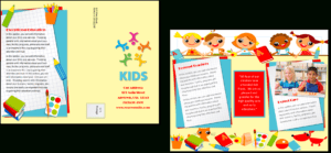 Download Daycare Brochure Template – Daycare Brochure – Full regarding Daycare Brochure Template