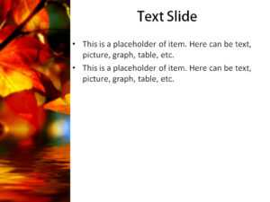 Download Free Autumn Leaves Powerpoint Template For within Free Fall Powerpoint Templates