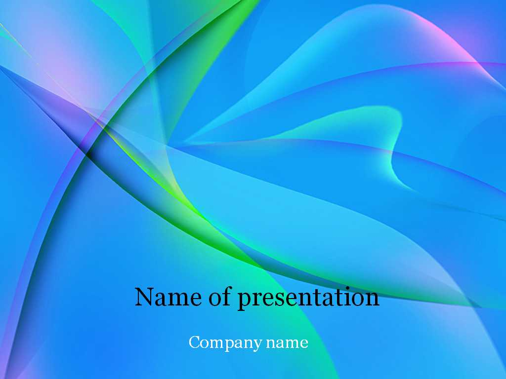 Download Free Blue Fantasy Powerpoint Template For Presentation With Microsoft Office Powerpoint Background Templates