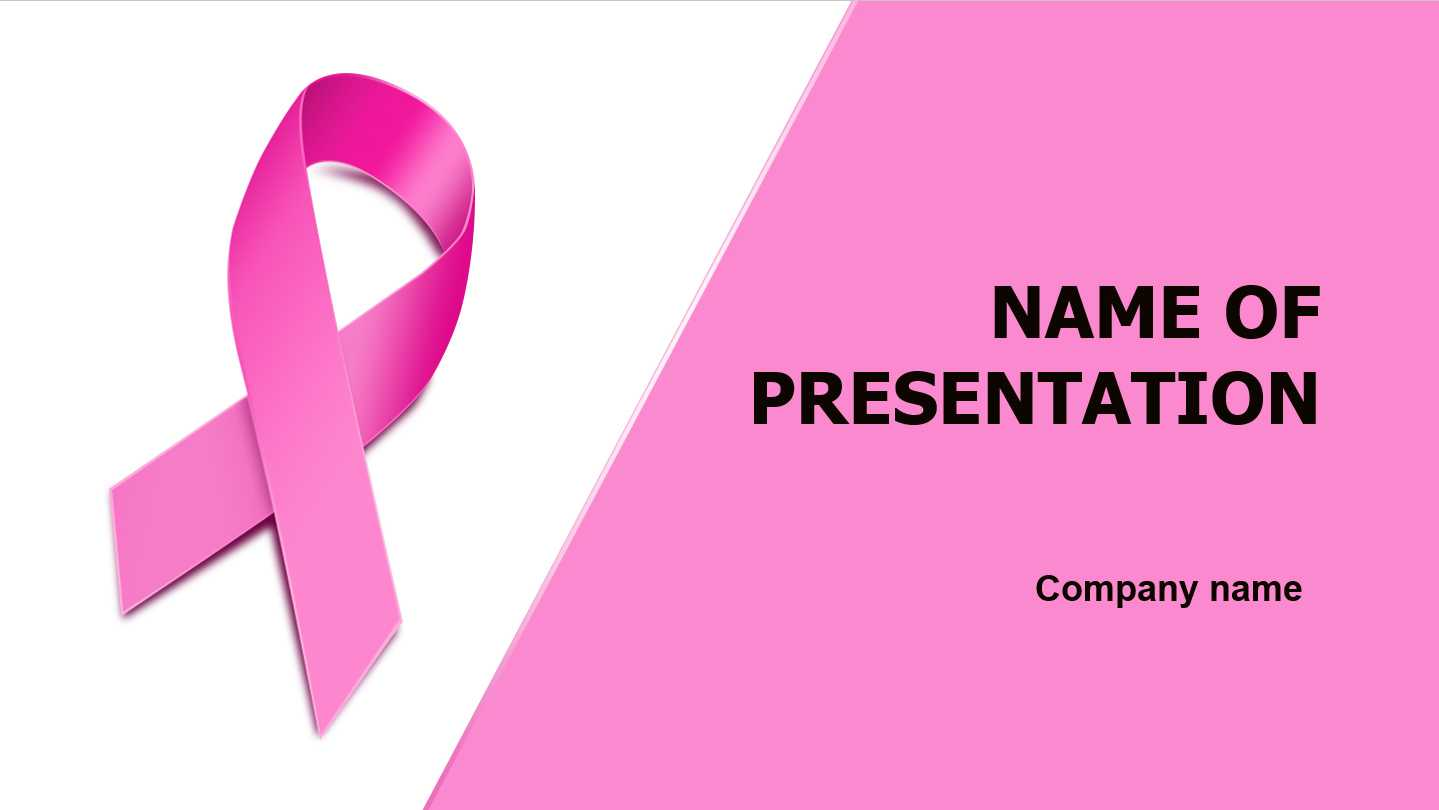 Download Free Breast Cancer Powerpoint Template And Theme Throughout Breast Cancer Powerpoint Template